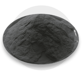 Self-fluxing powders