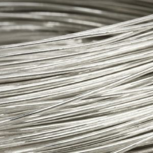 Wire of palladium and its alloys